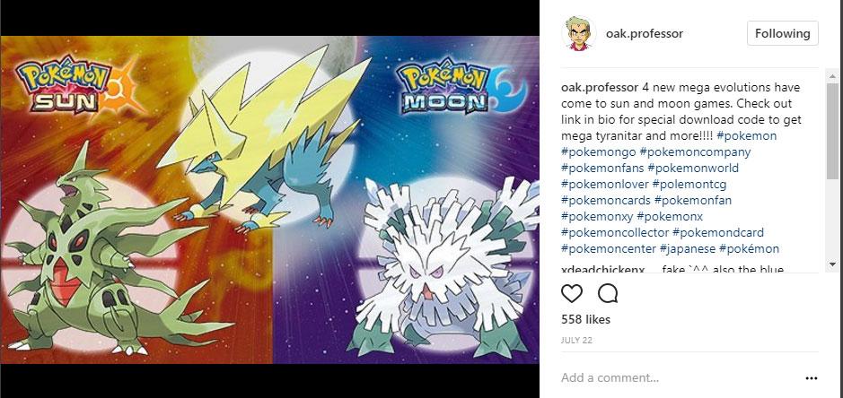 pokemon instagram blog